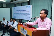 Dr. Sumon Rahman, Coordinator, Library Affairs and Associate Professor, MSJ, ULAB